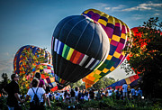Metamora Art - Metamora Hot Air Balloon Festival by Grace Grogan