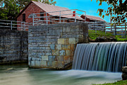 Metamora Art - Metamora Waterfall by Chuck Campbell