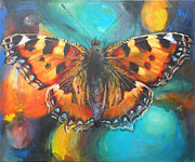 Nature Study Mixed Media - Metamorphose by Leigh Banks