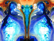 Enlightenment Art - Metamorphosis - Abstract Art By Sharon Cummings by Sharon Cummings