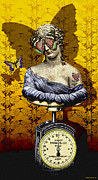 Featured Digital Art Posters - Metamorphosis Poster by Larry Butterworth