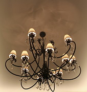 Chandelier Originals - Metaphoric Chandelier by Sandra Pena de Ortiz