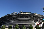 New York Jets Framed Prints - MetLife Stadium Framed Print by Allen Beatty
