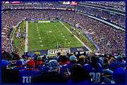 Ny Giants Posters - MetLife Stadium Poster by Gary Keesler