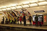 Metro Republique Print by Art Ferrier