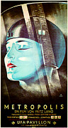 Metropolis Digital Art Prints - Metropolis Poster Print by Digital Reproductions
