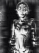 Science Fiction Art Originals - Metropolis The Movie by Tony Rubino