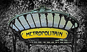 Metropolitain Framed Prints - Metropolitain Framed Print by Dave Mills