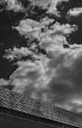 Architecture - Metropolitan Museum and Clouds 2 by Robert Ullmann