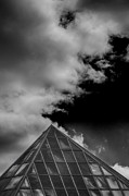 Architecture - Metropolitan Museum and Clouds by Robert Ullmann