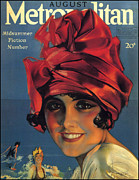 Magazine Cover Digital Art - Metropolitan  by Rolf Armstrong