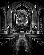 Metropolitan United Church 1 Toronto Canada Print by Brian Carson
