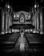 Blackandwhite Photo Posters - Metropolitan United Church 2 Toronto Canada Poster by Brian Carson