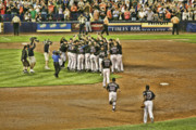 Mets Take Nl 2006 Print by Chuck Kuhn