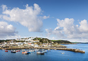 Cornwall Prints - Mevagissey Cornwall England Print by Colin and Linda McKie