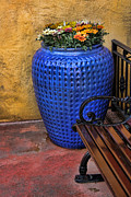 Flowerpot Photos - Mexican Flower Pot by Lee Dos Santos