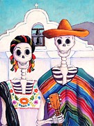 Campesinos Prints - Mexican Gothic Print by Candy Mayer