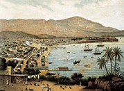 Acapulco Prints - Mexico 19th C.. Bay Of Acapulco Print by Everett