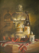 Beer Oil Paintings - Mexico by Mia DeLode