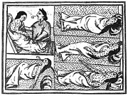 Colonial Man Prints - Mexico: Smallpox Epidemic Print by Granger
