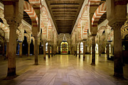 Support Framed Prints - Mezquita Interior in Cordoba Framed Print by Artur Bogacki