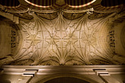 Carving Posters - Mezquita Vaulted Ceiling in Cordoba Poster by Artur Bogacki