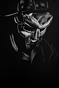 Apocalypse Mixed Media Framed Prints - MF Doom Framed Print by Trevor Garner