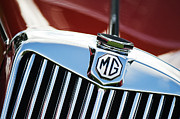 Badge Photos - MG TF 1500 Vintage Car  by Tim Gainey