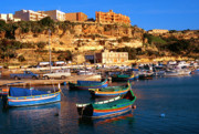 Maltese Photos - Mgarr Harbor Gozo by Thomas R Fletcher