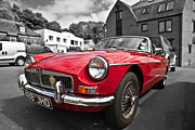 Anthony Morgan - MGB GT in red