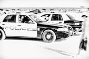 Miami Beach Patrol Print by Kasia Dixon