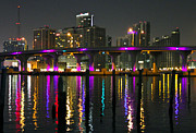 Florida Bridge Originals - Miami MacArthur Causeway by Gary Dunkel