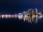 Rene Triay Photography Prints - Miami Skyline Print by Rene Triay Photography