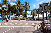 Crosswalk Photos - Miami street by Oleg Koryagin