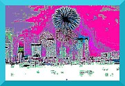 Miami Digital Art Posters - Miami Vice Poster by Art by Dance