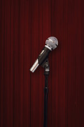 Microphone Prints - Mic Print by Margie Hurwich