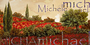 Names Prints - Michael Print by Guido Borelli