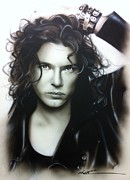 'michael Hutchence' Print by Christian Chapman Art