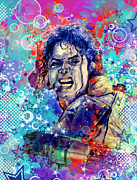 Michael Jackson 11 Print by MB Art factory