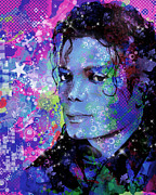 Michael Jackson 17 Print by MB Art factory