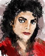 Music Legend Poster Prints - Michael Jackson Print by Ahmad Alyaseer