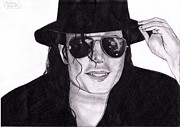 King Of Pop Prints - Michael Jackson Print by Cristina  Gabriela