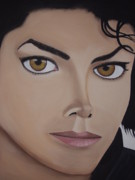 King Of Pop Prints - Michael Jackson Print by Dean Stephens
