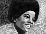 Michael Jackson Digital Art - Michael Jackson  by Mathieu Lalonde