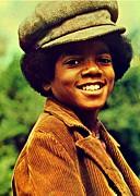Mj Prints - Michael Jackson Print by Movie Poster Prints