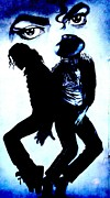 Michael Jackson Photo Framed Prints - Michael Jackson Framed Print by Steven Parker