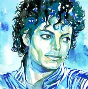 Michael Jackson Thriller Portrait Print by Fabrizio Cassetta