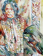 Michael Jackson Originals - MICHAEL JACKSON with JACKET PORTRAIT by Fabrizio Cassetta