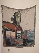 Cities Tapestries - Textiles - Michael Jordan He Is by Richard Johnston