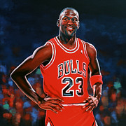 Paul Meijering Art - Michael Jordan by Paul Meijering